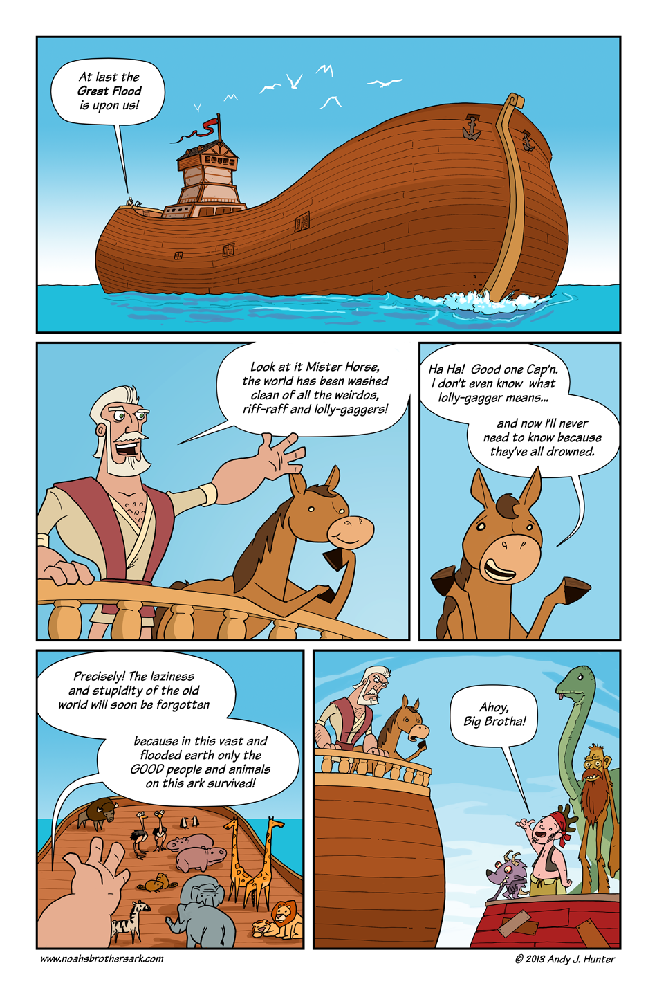 Noah's Brother's Ark Page 1