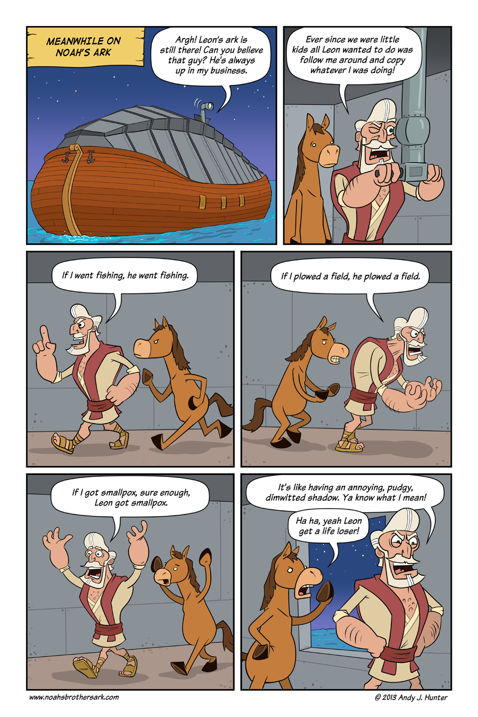 Noah's Brother's Ark Page 8