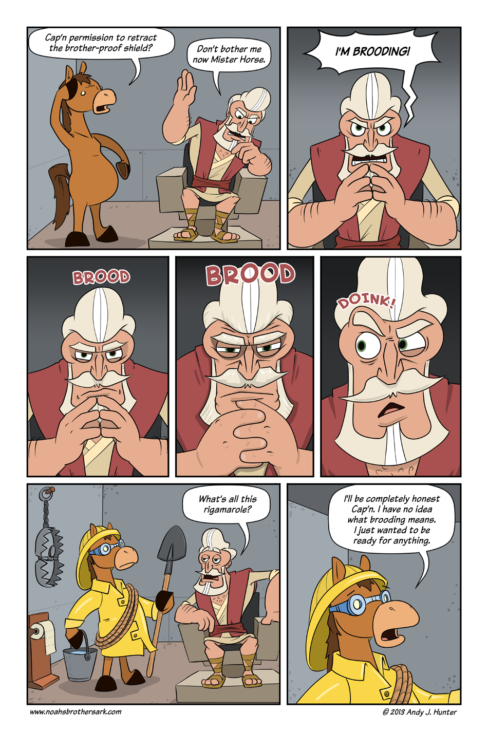 Noah's Brother's Ark Page 9