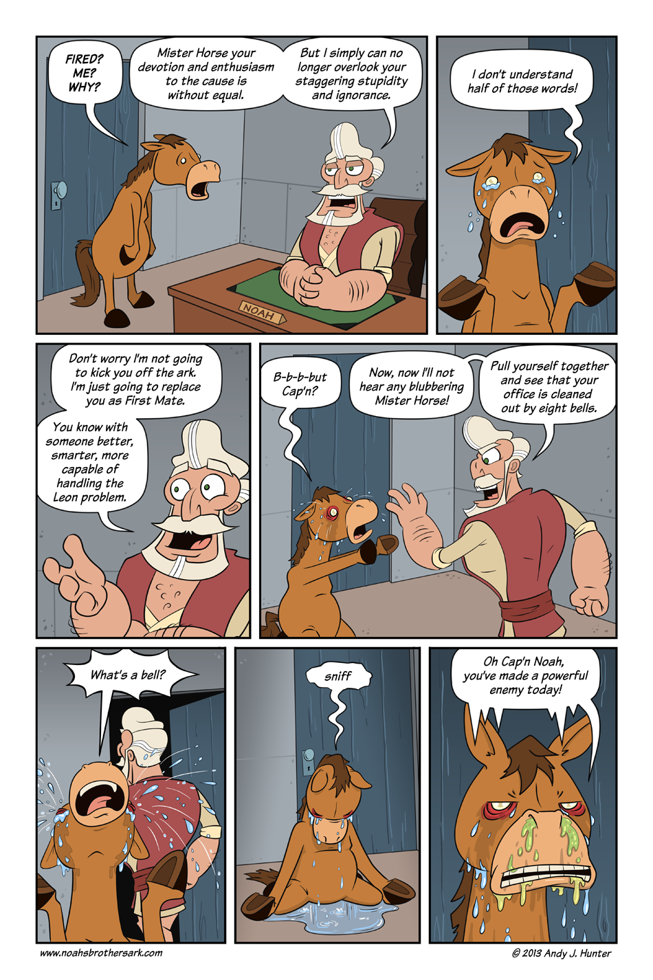 Noah's Brother's Ark Page 12