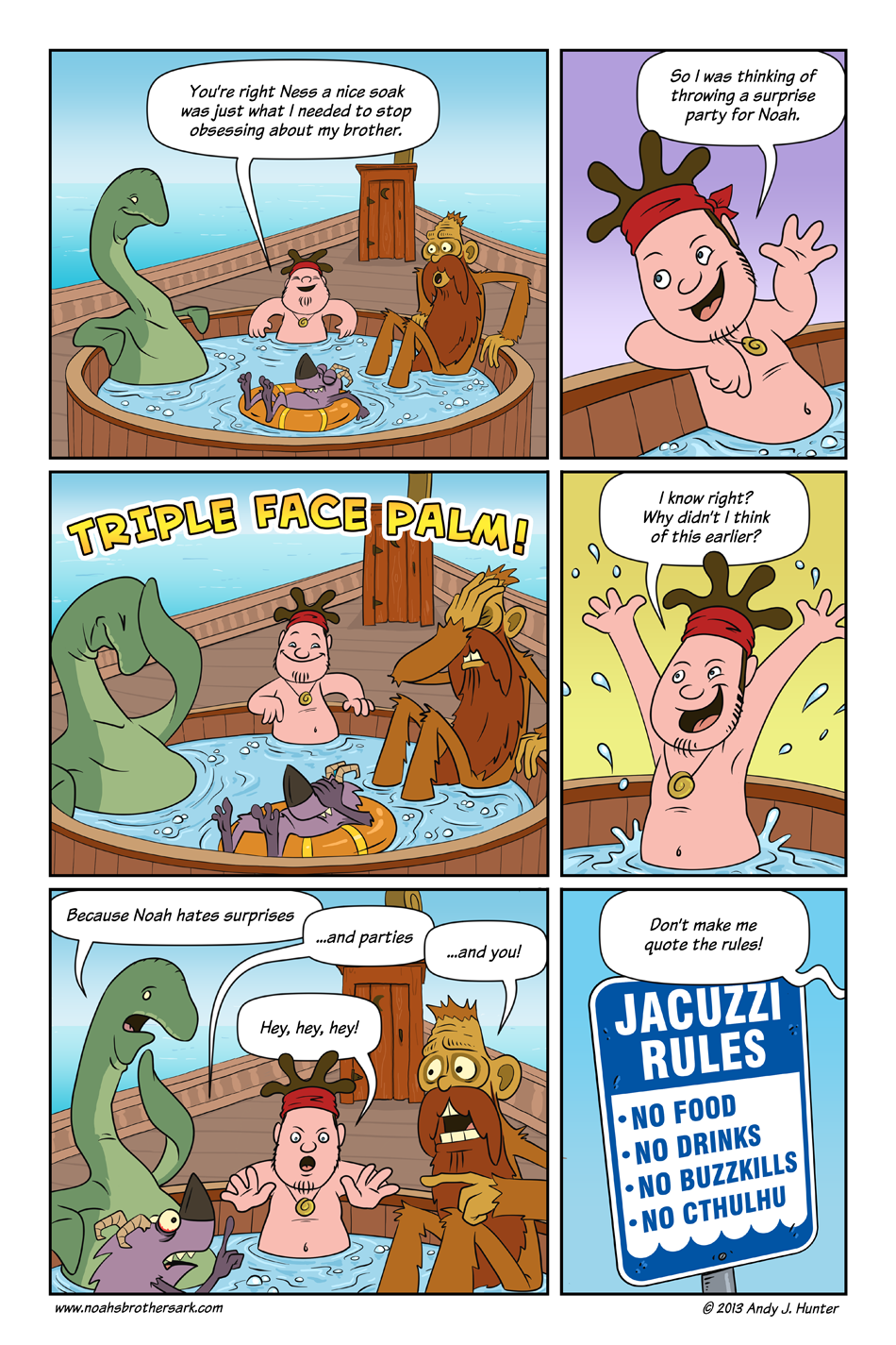 Noah's Brother's Ark Page 14