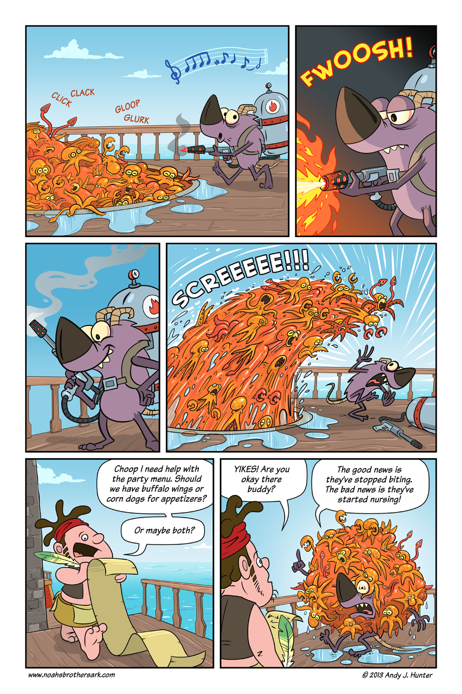 Noah's Brother's Ark Page 16