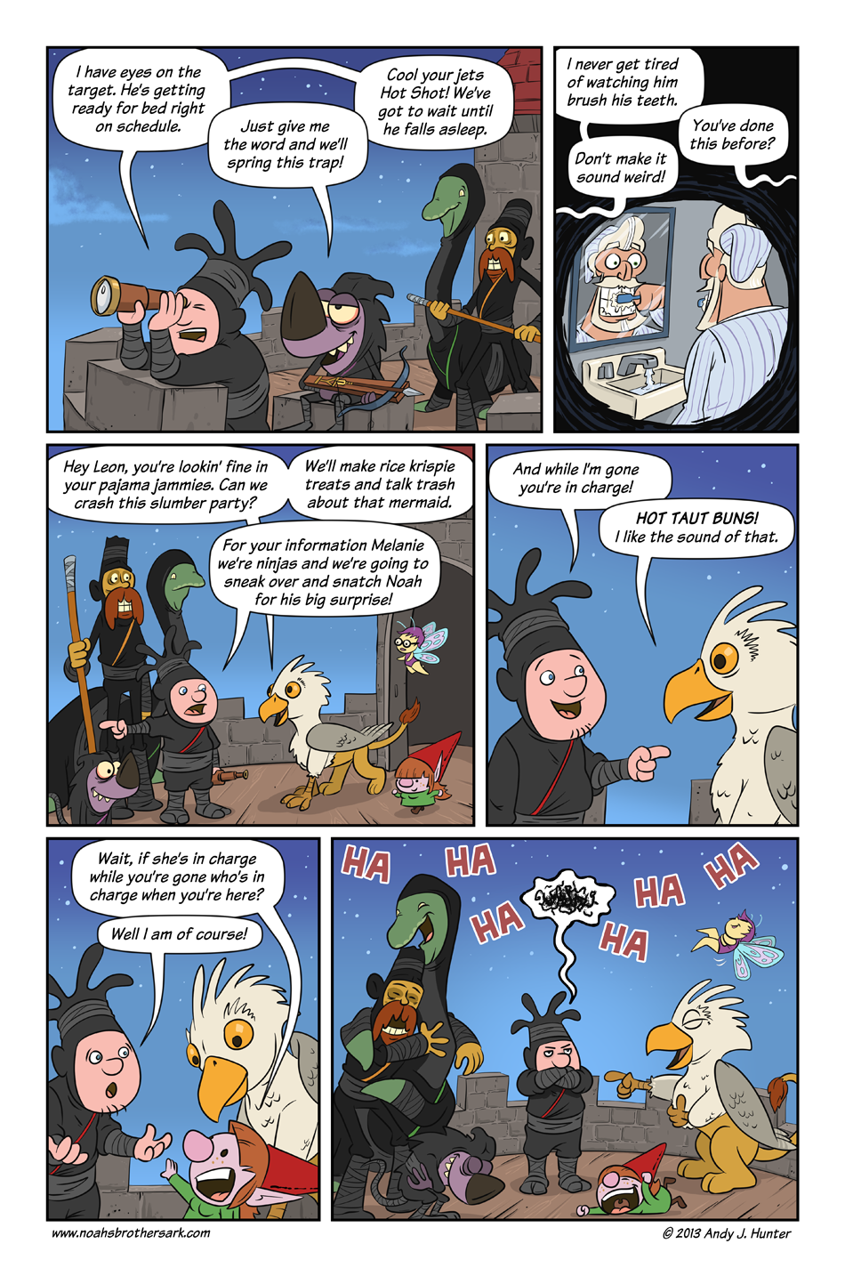 Noah's Brother's Ark Page 19