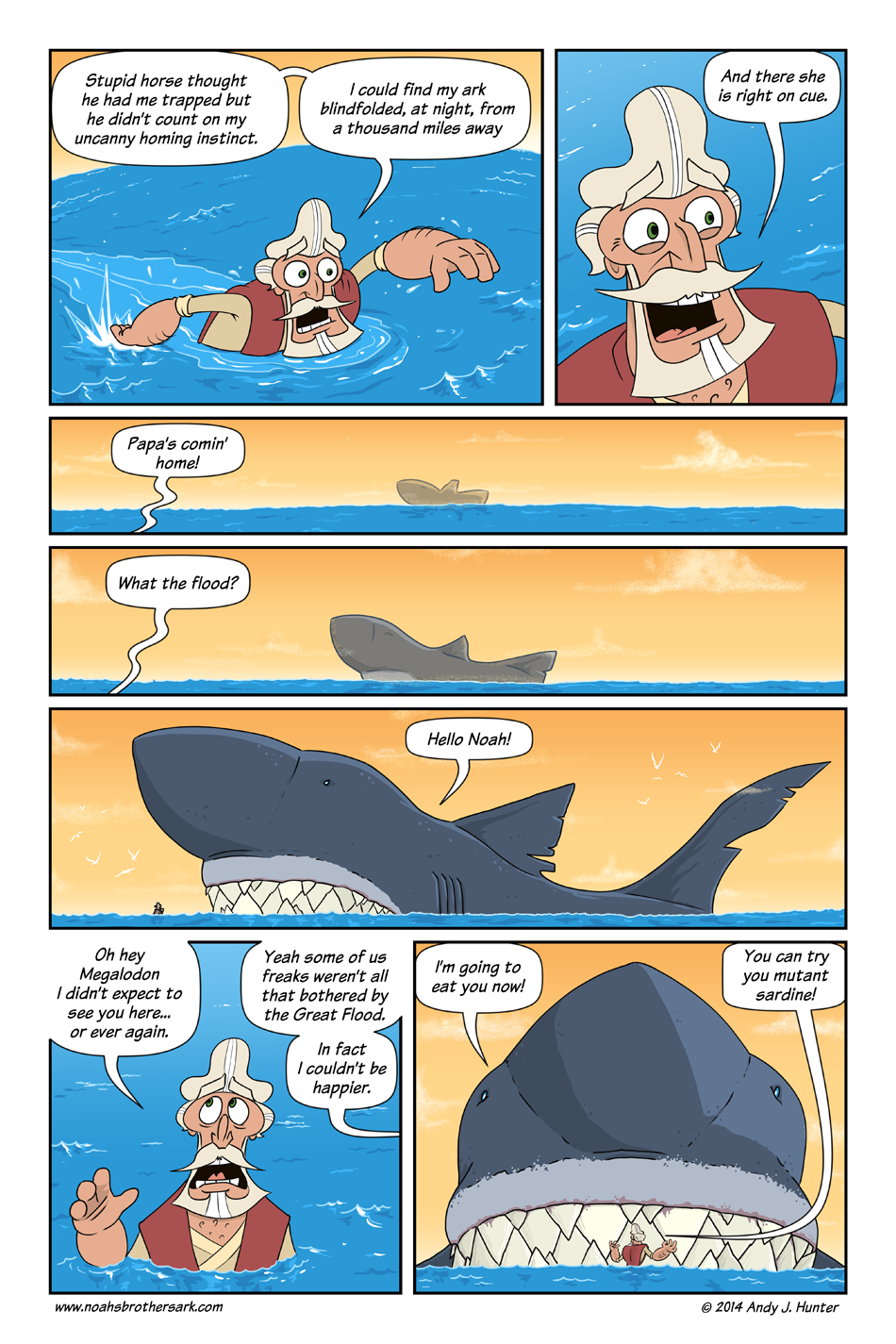 Noah's Brother's Ark Page 36
