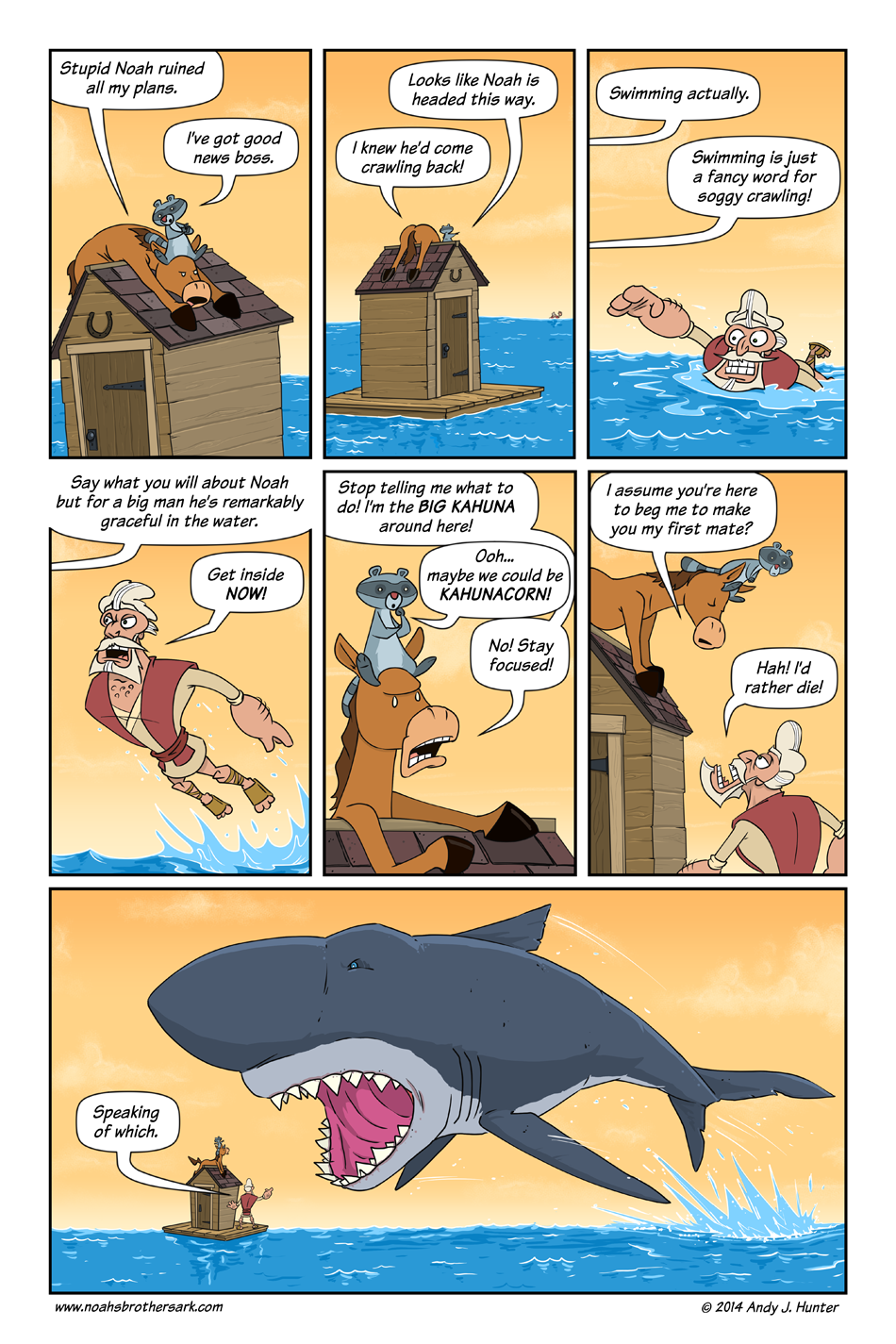 Noah's Brother's Ark Page 38