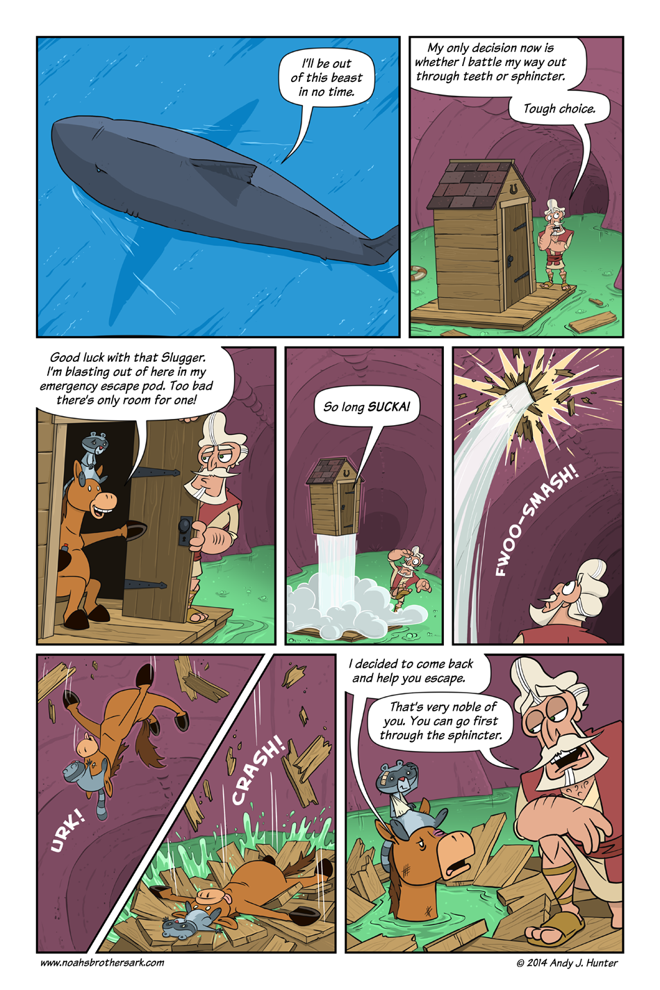 Noah's Brother's Ark Page 39