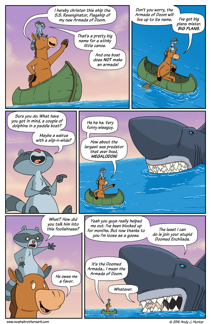 Noah's Brother's Ark Page 74