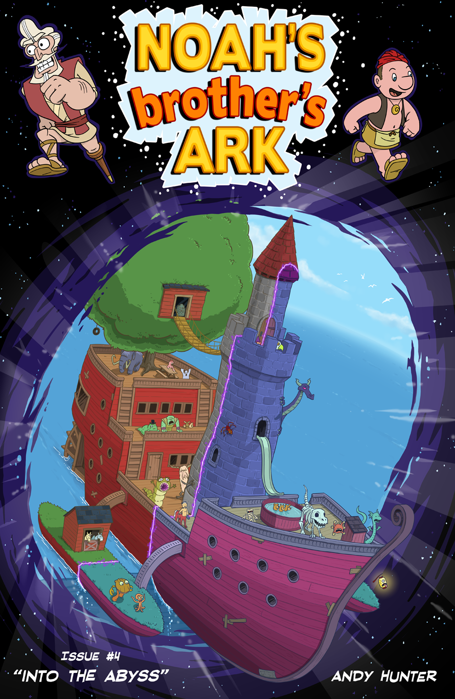 Noah's Brother's Ark Issue #4 Cover