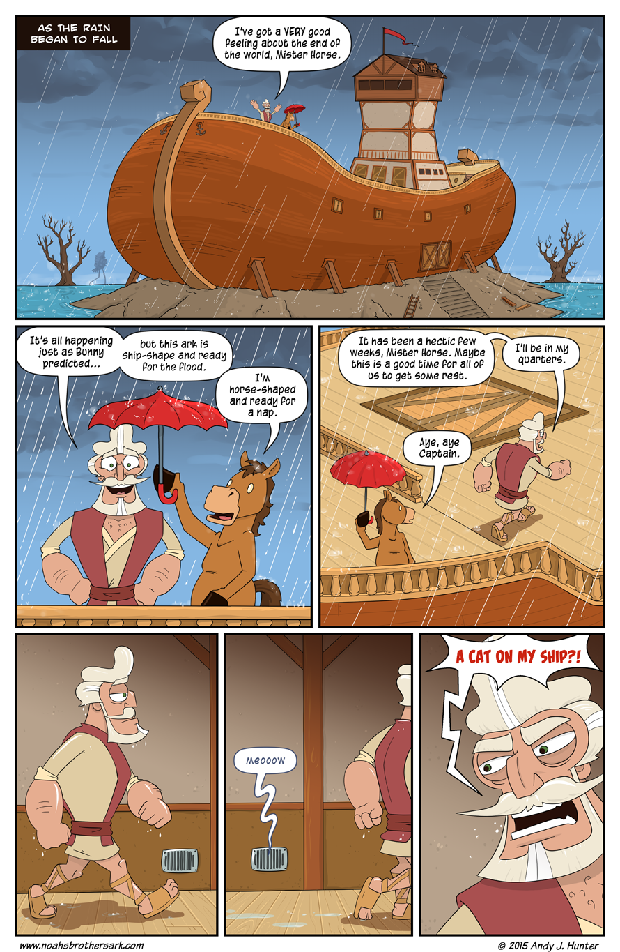 Noah's Daughters Page 01
