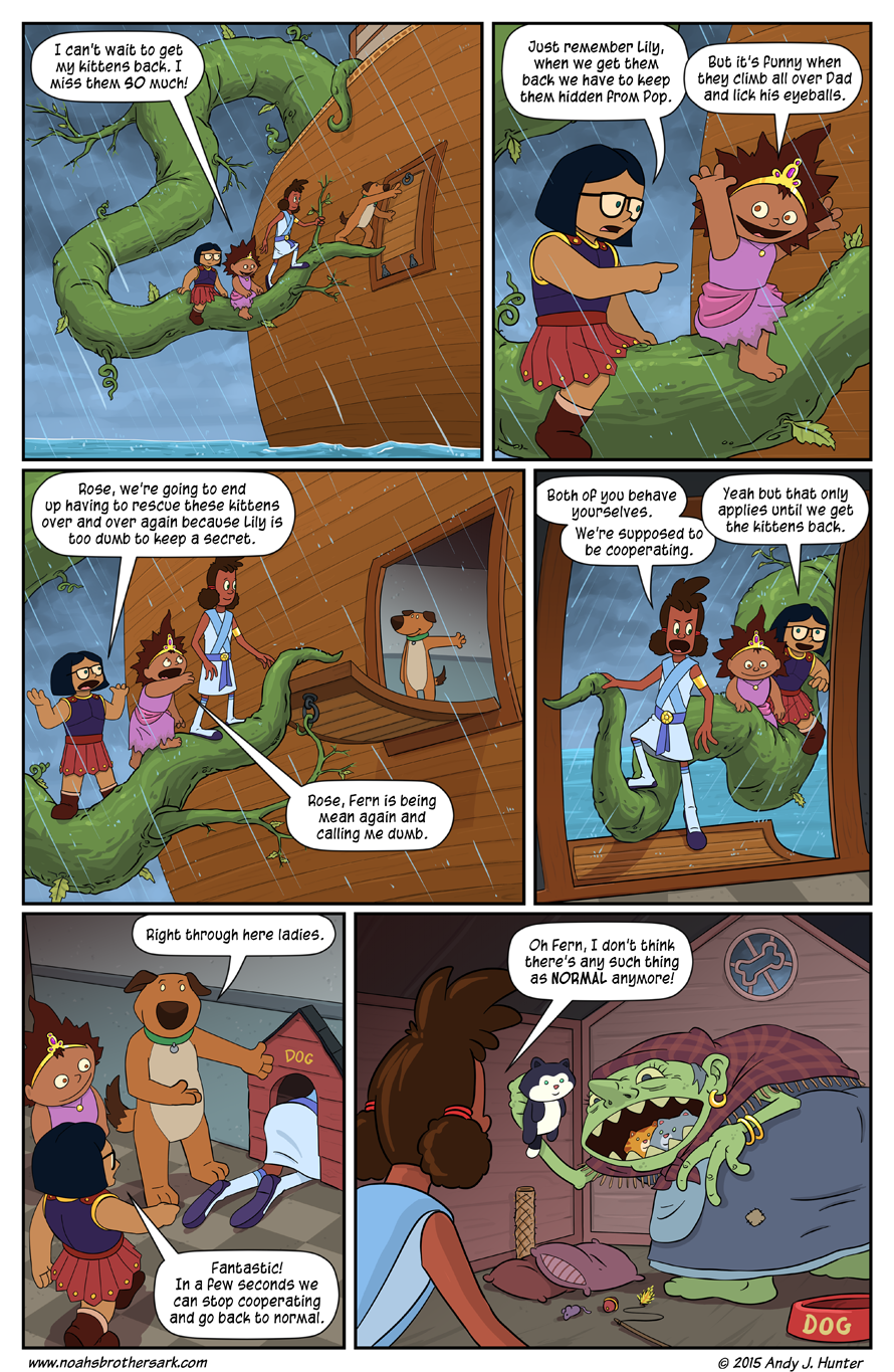 Noah's Daughters Page 9