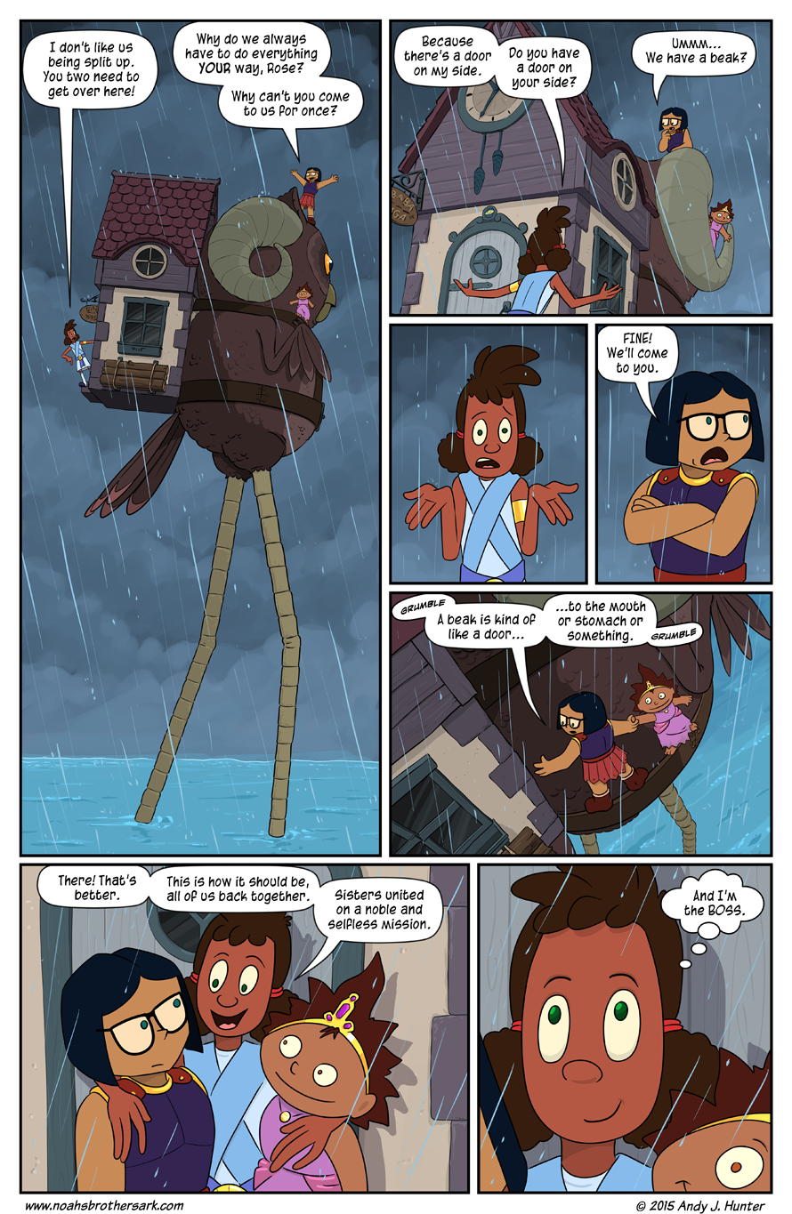 Noah's Daughters Page 14