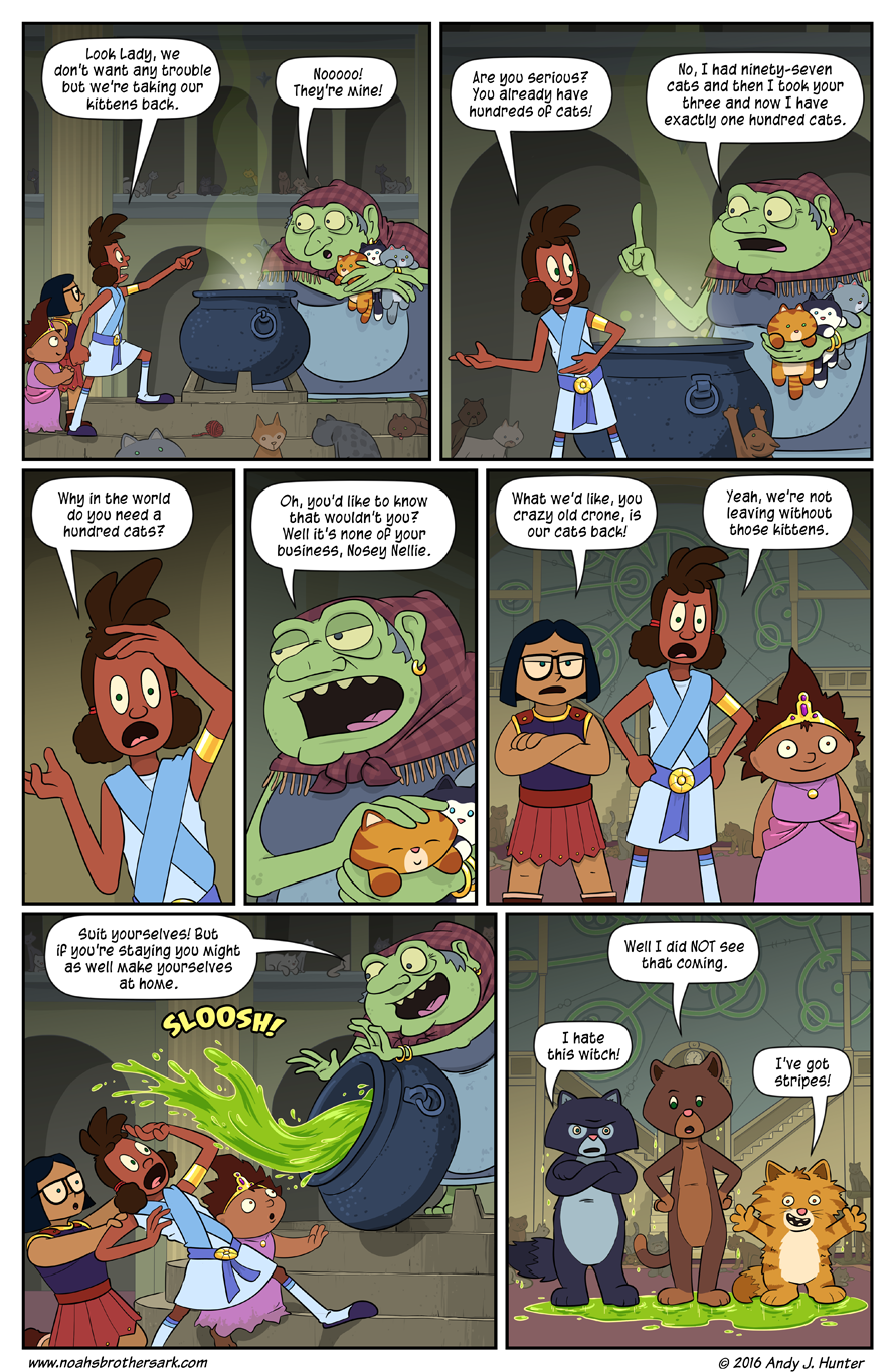 Noah's Daughters Page 17: Witch's Brew