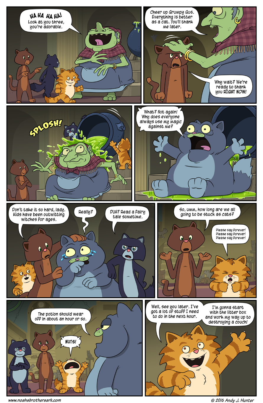 Noah's Daughters Page 18: Payback