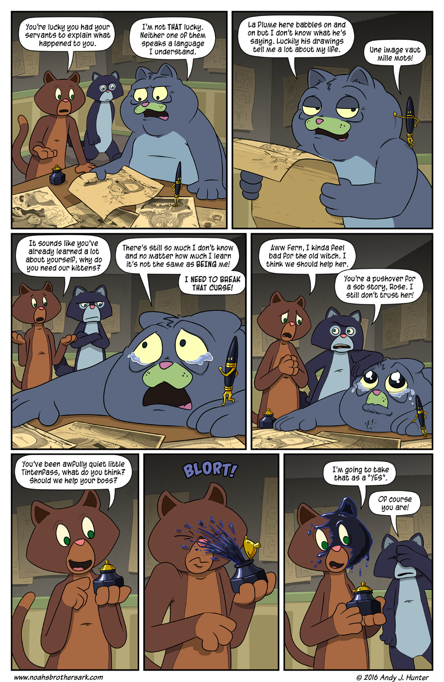 Noah's Daughters Page 21: Sob Story